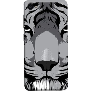 FUSON Designer Back Case Cover For Lenovo Zuk Z2 Plus (Grey Tiger Looking Into Eyes Whiskers Chitta)
