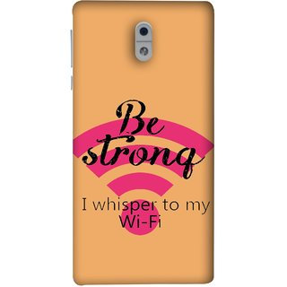 FUSON Designer Back Case Cover For Nokia 3 (Be Strong In Life Always Youngs Boys And Girls Network)