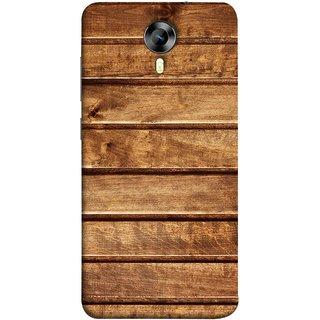 FUSON Designer Back Case Cover for Micromax CanvasNitro4G E371 (Wood Furniture Table Door Solid Beautiful Art Wallpaper)