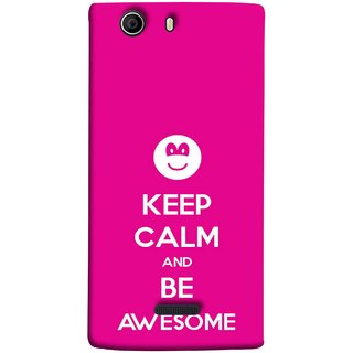 FUSON Designer Back Case Cover for Micromax Canvas Nitro 2 E311 (Beautiful Hearts Always Stay Silent & Be Goodto Others)