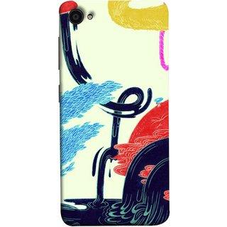 FUSON Designer Back Case Cover For Lenovo Zuk Z2 Plus (Multicolour Waterfall Oilpaint Blue Rajhans Locket)