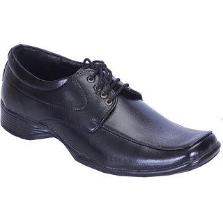 Groofer men's Black Lace-up formal shoes