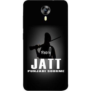 FUSON Designer Back Case Cover for Micromax CanvasNitro4G E371 (Gary Hothi Jatt Soorme Punjabi Song Movie Famous)