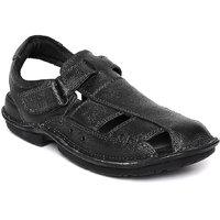 Hush Puppies Men'S Black Velcro Sandals