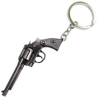 JHARJHAR REVOLVER GUN KEY CHAIN (A)