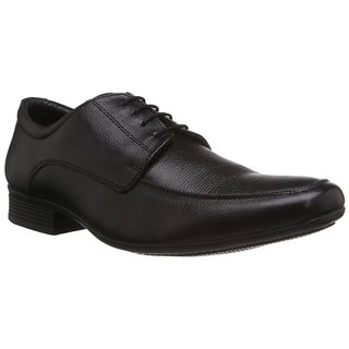 Hush Puppies MenS Black Formal Lace-Up Shoes