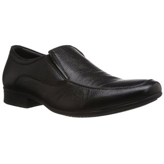 Hush Puppies MenS Black Formal Slip On Shoes