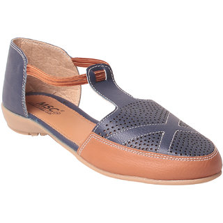 MSC Women's Blue Sandals