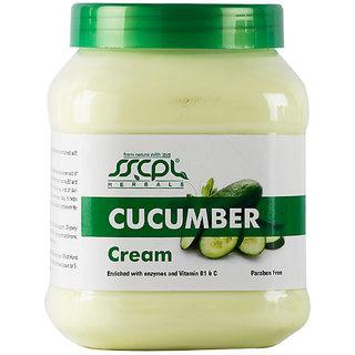 SSCPL HERBALS Cucumber Massage Cream (450gm)