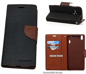 Mobimon Mercury Wallet Dairy Flip Cover for Samsung Galaxy J7 Prime Premium Quality Brown