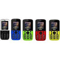 Combo Of 5, Mido 3300 Multicolor Dual Sim Mobile Phone