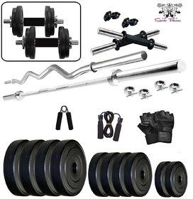 SPORTO FITNESS 30Kg Combo Home Gym  Fitness Kit