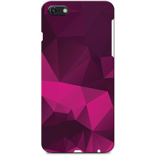 timeless design c7f89 1f88c iPhone 6 Case, iPhone 6S Case, Magenta Black Crystal Print Slim Fit Hard  Case Cover/Back Cover for iPhone 6/6S