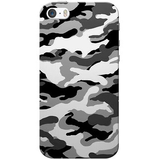 the latest e02bb 11170 iPhone 5 Case, iPhone 5S Case, Military Army Grey Black Slim Fit Hard Case  Cover/Back Cover for iPhone 5/5s