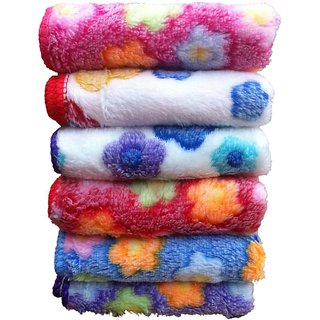 angel homes set of 5 face towel (ae1)