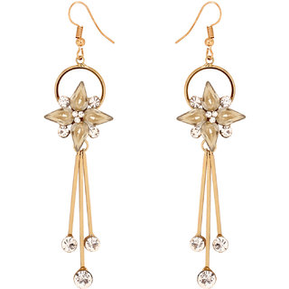 Penny Jewels Antique Exclusive Contemporary Light Weight Hanging Earrings Set For Women  Girls