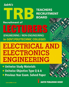 TRB Lecturers Electrical and Electronics Engineering (Govt polytechnic colleges)
