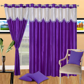K Decor Set of 2 Beautiful Door Curtains (DC-081)
