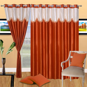 K Decor Set of 2 Beautiful Door Curtains (DC-087)