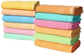angel homes cotton 6 hand towel (y1)