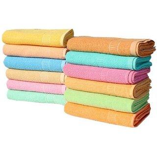angel homes cotton 6 hand towel (y1)