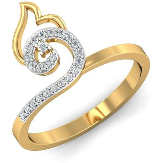 Gili 14K Yellow Gold Diamond Ring For Women