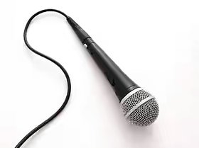 microphone with wire and 3.5 mm jack