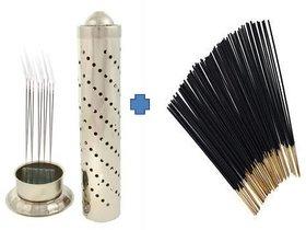 Buy Stainless Steel Agarbatti Stand  Get Agarbatti Stick Free (100gm)