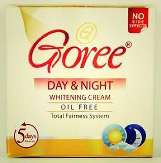 GOREE DAY  NIGHT CREAM WITH GOREE WHITENING SOAP.