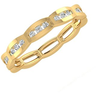 Sangini 14K Yellow Gold Diamond Ring For Women