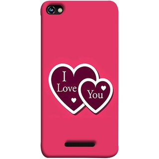 FUSON Designer Back Case Cover for Micromax CanvasHue2A316 (Pink Red Wallpapers Boyfriends Pure True Relations)