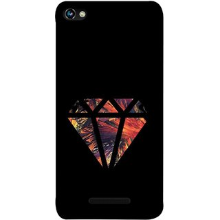 FUSON Designer Back Case Cover for Micromax CanvasHue2A316 (Bright Beautiful Colour Strips And Band Wave Triangle)