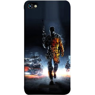FUSON Designer Back Case Cover for Micromax CanvasHue2A316 (Army War Secret Missions Country Saver Fighter )