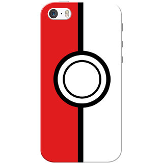 premium selection de3b9 b14d9 iPhone 5 Case, iPhone 5S Case, Pokemon Slim Fit Hard Case Cover/Back Cover  for iPhone 5/5S