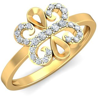 Celenne By Gili 14K Yellow Gold Diamond Ring For Women