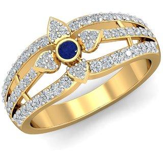 Parineeta 14K Yellow Gold Diamond Ring For Women