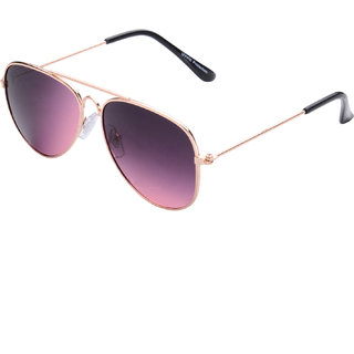 The Blue Pink Uv Protected Mirror Aviator Sunglasses For Age Group 4-6 Years Kids (KD1-0711R