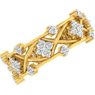 Sangini 14K Yellow Gold Diamond Ring For Women