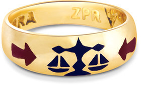 Zodiac Power Ring Libra