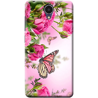 the latest ce01b ed70c Mobile Cover Printed Back Cover For Micromax Mega Q417