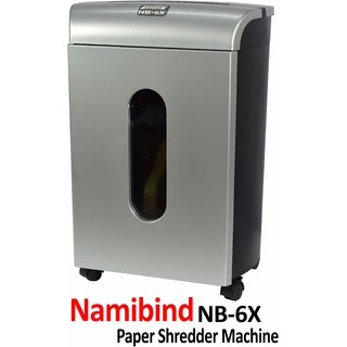 NAMIBIND NB-6X (15 SHEETS) PERSONAL USE cross cut PAPER SHREDDER