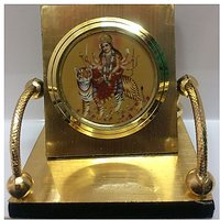 MAA SHERAVALI Exclusive Gold Papered Car Dashboard Temple By Lowrence