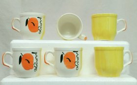 Tea cups set, 90 ml