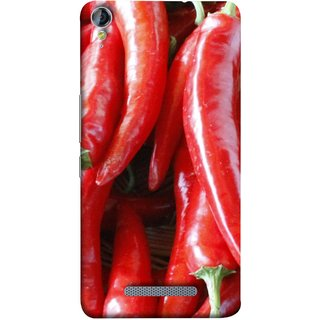 FUSON Designer Back Case Cover for Micromax Canvas Juice 3+ Q394 :: Micromax Canvas Juice 3 Plus Q394 (India Business Hot Sauces Farm Fresh Pickles Kitchen)
