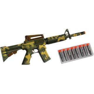 DDH Army Air Long gun with 8 shooting bullets (Green)