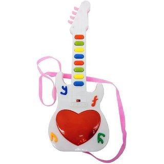 DDH Music Mini Guitar Toy for Kids  (Multicolor)