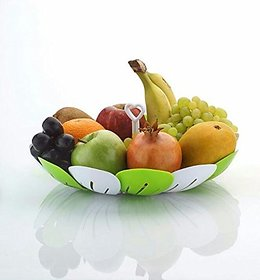 SRK Foldable Multipurpose Plastic Fruit Basket
