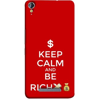 FUSON Designer Back Case Cover for Micromax Canvas Juice 3+ Q394 :: Micromax Canvas Juice 3 Plus Q394 (Beautiful Richer Always Stay Silent & Be Good To Others)