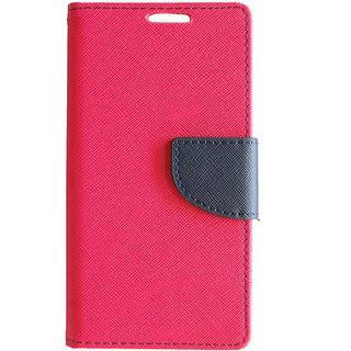 Quickie Fashion Flip Cover For Coolpad Dazen F1 - Pink