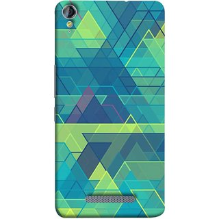 FUSON Designer Back Case Cover for Micromax Canvas Juice 3+ Q394 :: Micromax Canvas Juice 3 Plus Q394 (Hexagonal Shape Abstract Pattern Geometric Shapes )